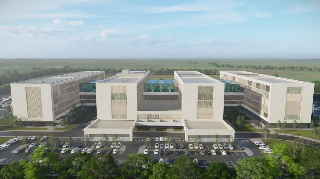 Consiliul Județean Sibiu a dat în lucru proiectul de autorizare construcție pentru noul Spital Județean